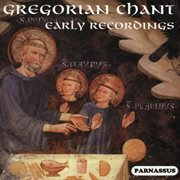 Gregorian chant early recordings (1928-1936) cover image