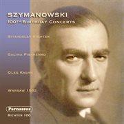 Richter plays Szymanowski cover image