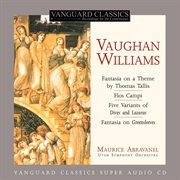 Vaughan williams: orchestral works cover image