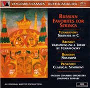 Russian favorites for strings cover image