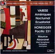 Edgard varese: ameriques, nocturnal, ecuatorial / arthur honegger:pacific 231 cover image