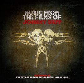 Cover image for Music From The Films Of Johnny Depp