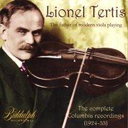 Lionel Tertis cover image
