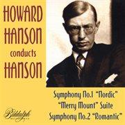 Howard Hanson conducts Hanson cover image