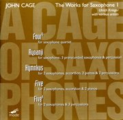 "Cage:  ""a Cage of Saxophones"""