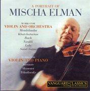A portrait of mischa elman cover image