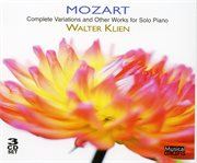 Mozart: complete variations and other works for solo piano cover image