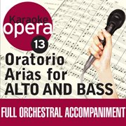 Karaoke opera: oratorio arias for alto & bass cover image