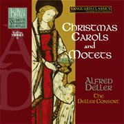 Alfred deller: the complete vanguard classics recordings: music for the christmas season cover image