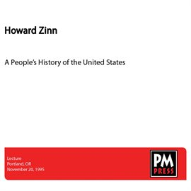 Cover image for A People's History Of The United States