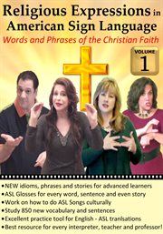 Religious expressions in american sign language, vol. 1 cover image