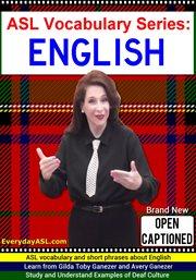 English cover image
