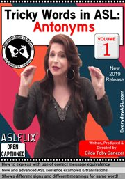 Tricky words in asl: antonyms - season 1 cover image