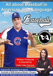All about baseball in american sign language cover image