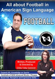 All about football in american sign language cover image