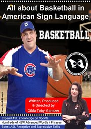 All about basketball in american sign language cover image