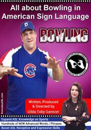 All about bowling in american sign language cover image