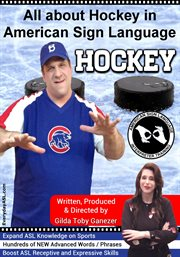 All about hockey in american sign language cover image