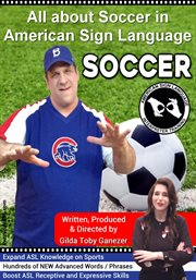 All about soccer in american sign language cover image