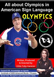 All about olympics in american sign language cover image