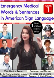 Emergency medical words & phrases in american sign language - season 1 cover image