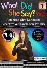 What did she say? asl receptive & translation - season 1 cover image