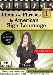 Idioms & phrases in american sign language - season 1 cover image