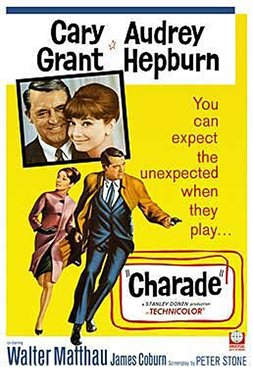 Charade - 1963 motion picture starring Audrey Hepburn and Cary Grant
