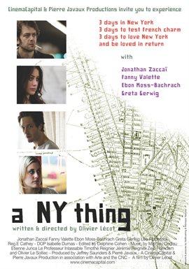A NY Thing / Jonathan Zaccaï