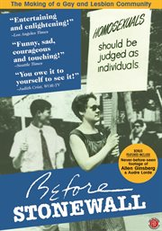 Before Stonewall ;: After Stonewall cover image