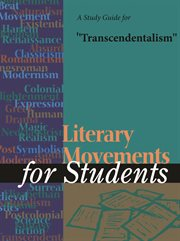 "A Study Guide for ""transcendentalism"""