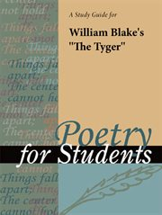 "A Study Guide for William Blake's ""the Tyger"""