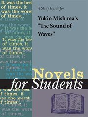 A Study Guide for Yukio Mishima's the Sound of Waves