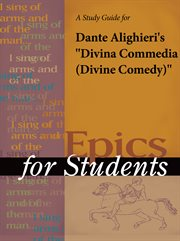 A Study Guide for Dante Alighieri's Divina Commedia (divine Comedy)