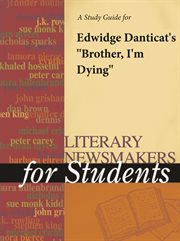 A Study Guide for Danticat's Brother