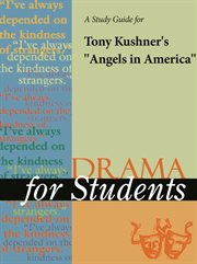 """A Study Guide for Tony Kushner's """"angels in America"""""""