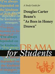 "A Study Guide for Douglas Carter Beane's ""as Bees in Honey Drown"""
