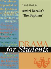 "A Study Guide for Amiri Baraka's ""the Baptism"""