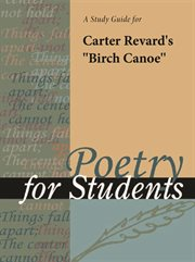 "A Study Guide for Carter Revard's ""birch Canoe"""
