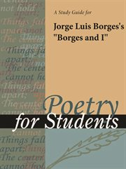 "A Study Guide for Jorge Luis Borges's ""borges and I"""
