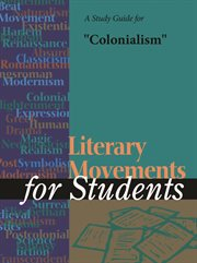 "A Study Guide for ""colonialism"""