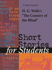 """A Study Guide for H. G. Wells's """"country of the Blind"""""""
