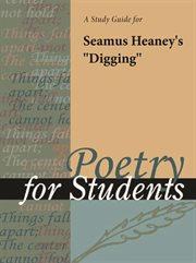 "A Study Guide for Seamus Heaney's ""digging"""