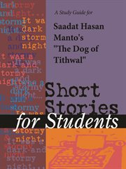"A Study Guide for Sadat Hasan Manto's ""dog of Tithwal"""