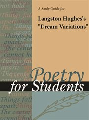 """A Study Guide for Langston Hughes's """"dream Variation"""""""