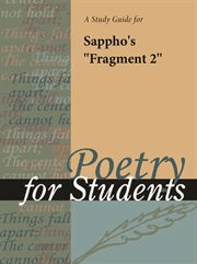 "A Study Guide for Sappho's ""fragment 2"""