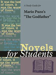 "A Study Guide for Mario Puzo's ""the Godfather"""