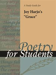 "A Study Guide for Joy Harjo's ""grace"""