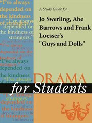 """A Study Guide for Frank Loesser/abe Burrows/jo Swerling's """"guys and Dolls"""""""