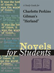 """A Study Guide for Charlotte Perkins Gilman's """"herland"""""""